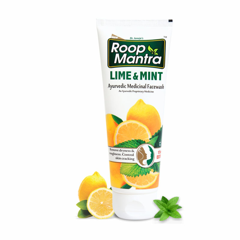 Roopmantra-ayurvedic-lime-and-mint-face-wash
